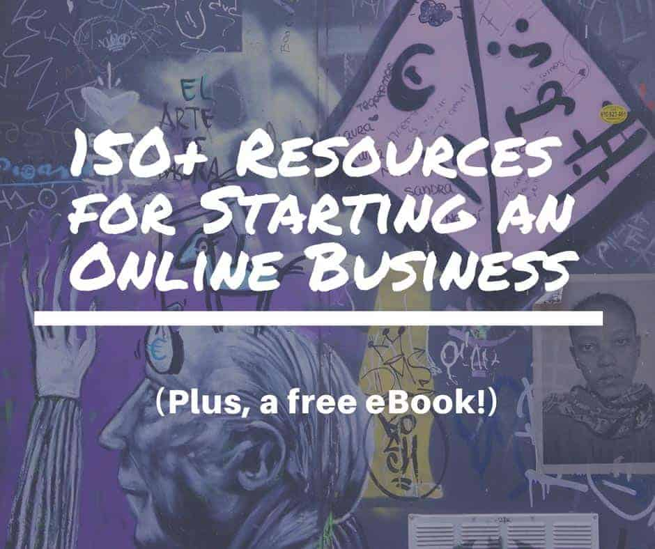 150 resources for starting an online business-1