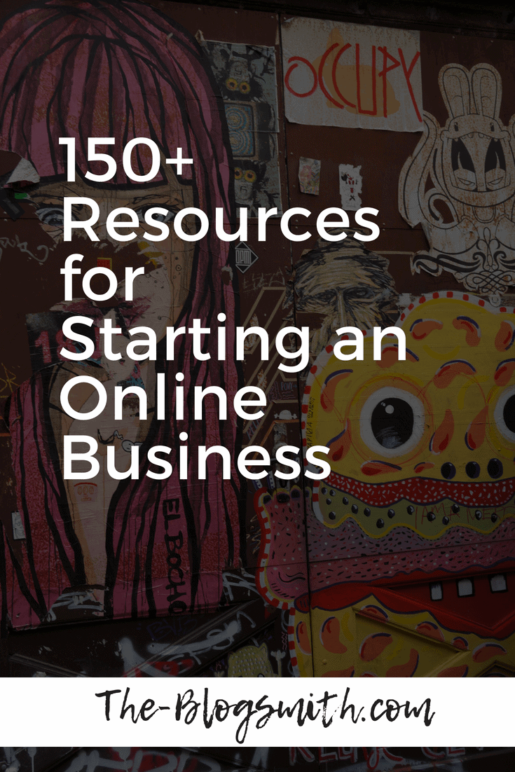 Learn from my experience with these 150+ resources for starting an online business. Then download the free ebook to refer back to!