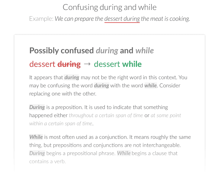Inches Proofreading Software Grammarly