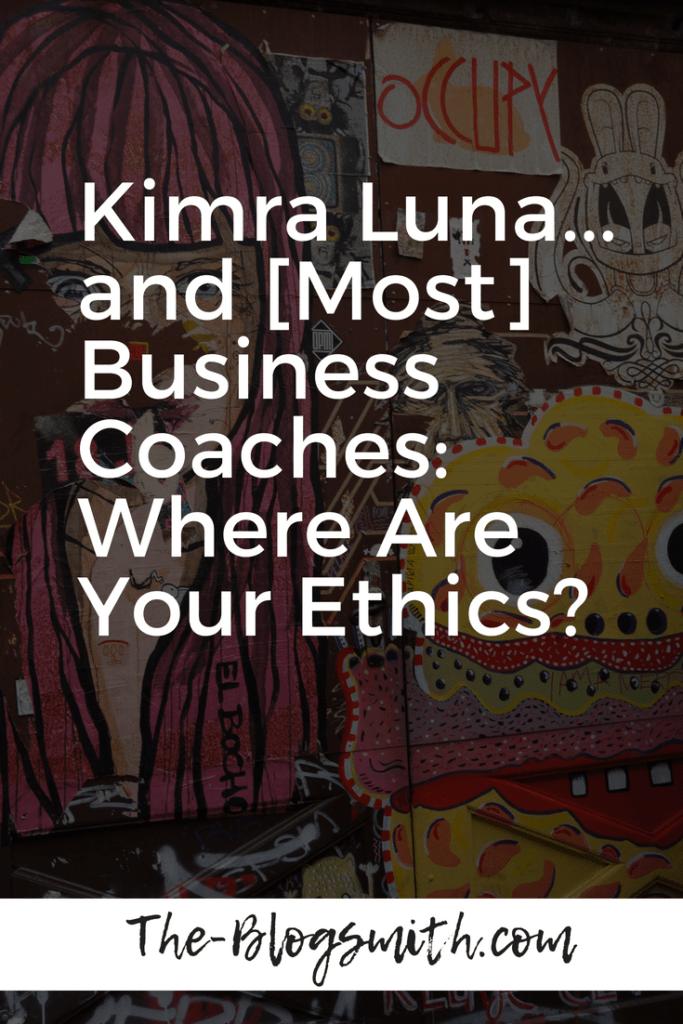 kimra luna business coaches