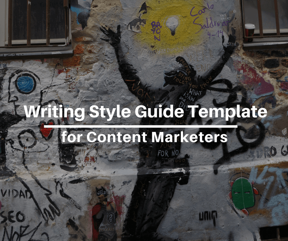 Writing Style Guide Template