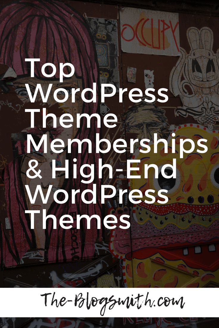 With so many options for high-end WordPress themes and various companies offering WordPress theme memberships, it can be a little overwhelming to decide what works best for you and your business. Use my own experiences to take out some of the guesswork.