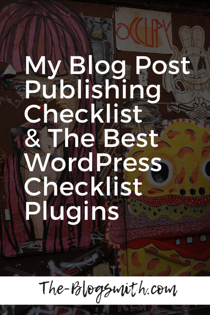 blog post checklist wordpress checklist plugins