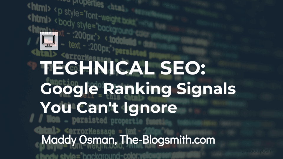 Skillshare - Technical SEO_ Google Ranking Signals You Can't Ignore