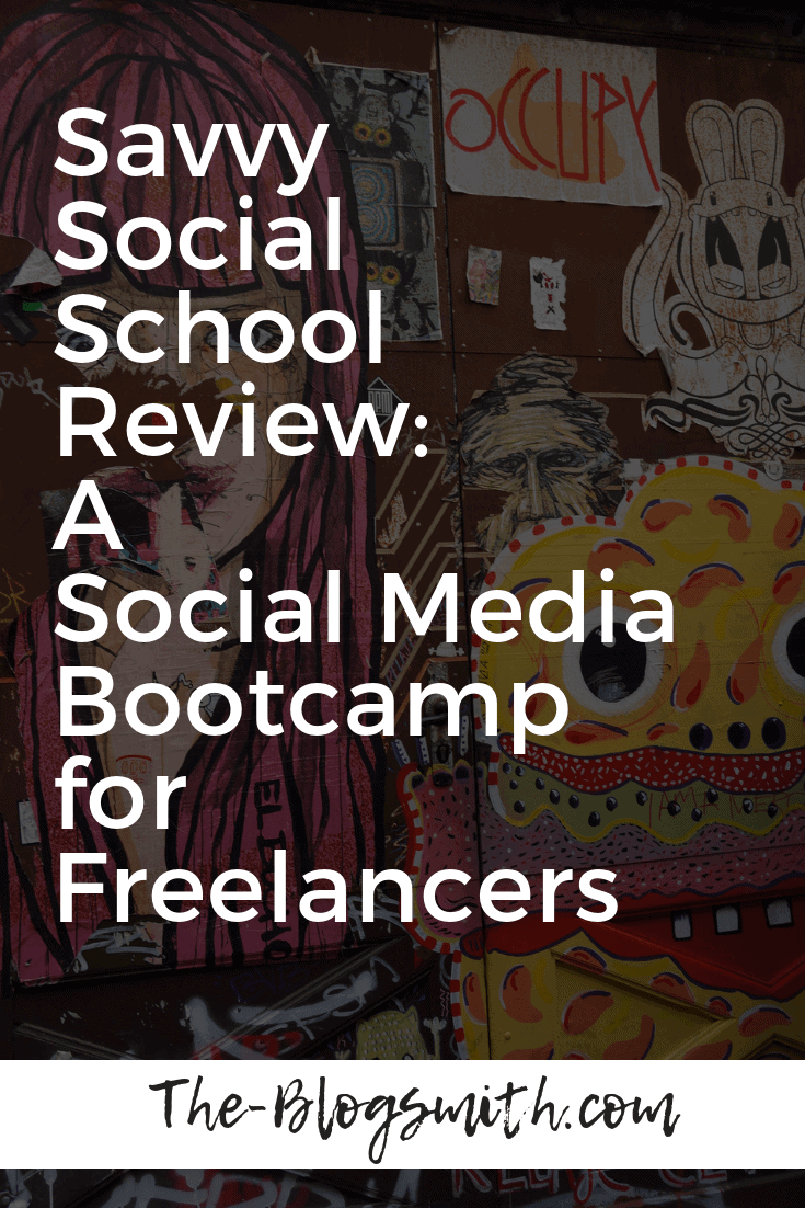 Done-for-you image templates, a video training library, & group coaching calls for $37/month. Enroll in Savvy Social School, a social media bootcamp.
