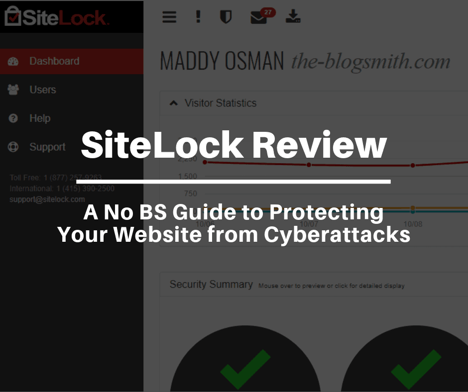 SiteLock Review - An artilcle by Maddy Osman, The Blogsmith