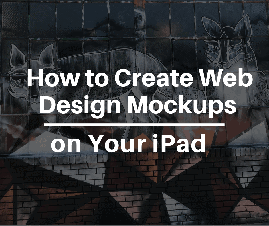 how to create web design mockups on your iPad with Vectornator X